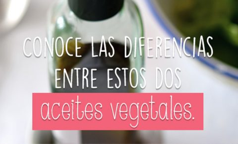 Aceite: oliva VS canola