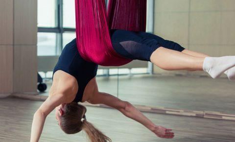 Aeroyoga, equilibrio y armonía
