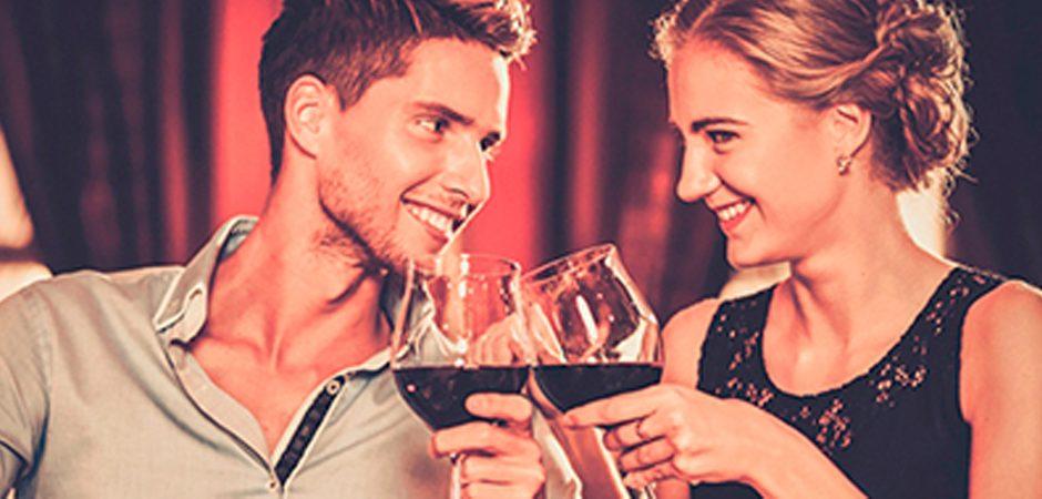 Cena y vino, una buena combinación