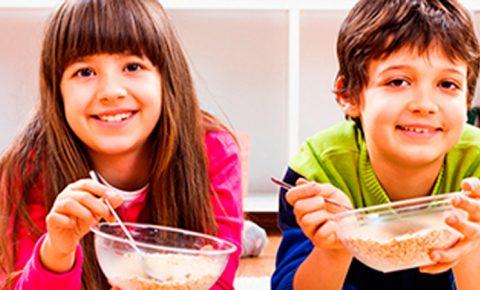 Cereales perfectos para los niños
