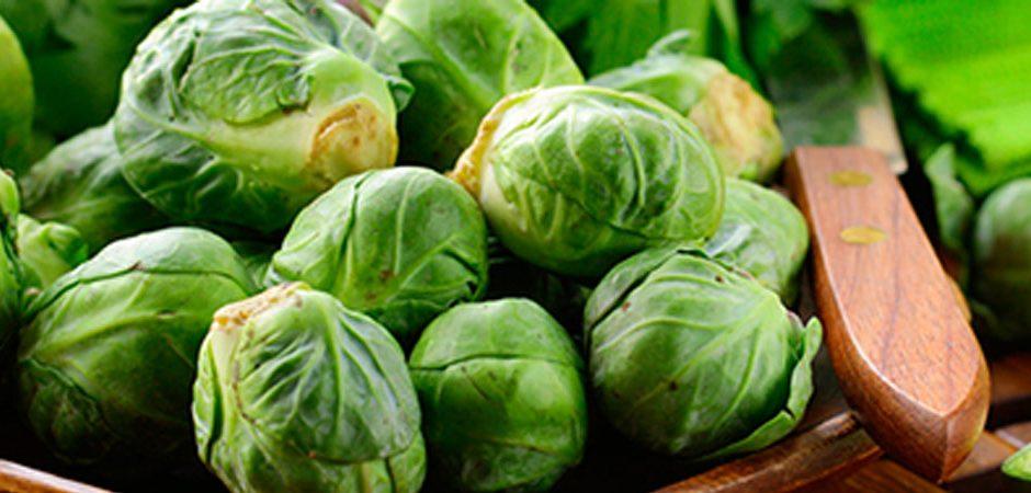 ¿Cero grasa? Cocina con col de Bruselas