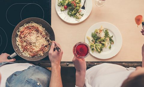 Cocina con tu pareja
