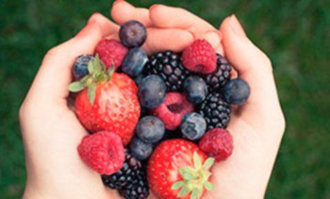 De tips, postres y frutos rojos