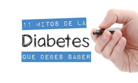 Desmitifica las creencias alrededor de diabetes tipos 1,2 y gestacional