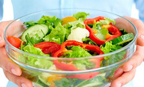 Diabetes y vegetales de hojas verdes