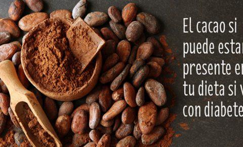 Dile sí al cacao, aunque vivas con diabetes