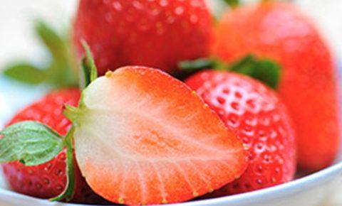 ¡Fresas en tus postres!