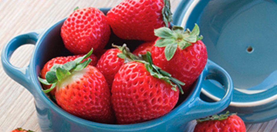 Fresas para controlar el colesterol
