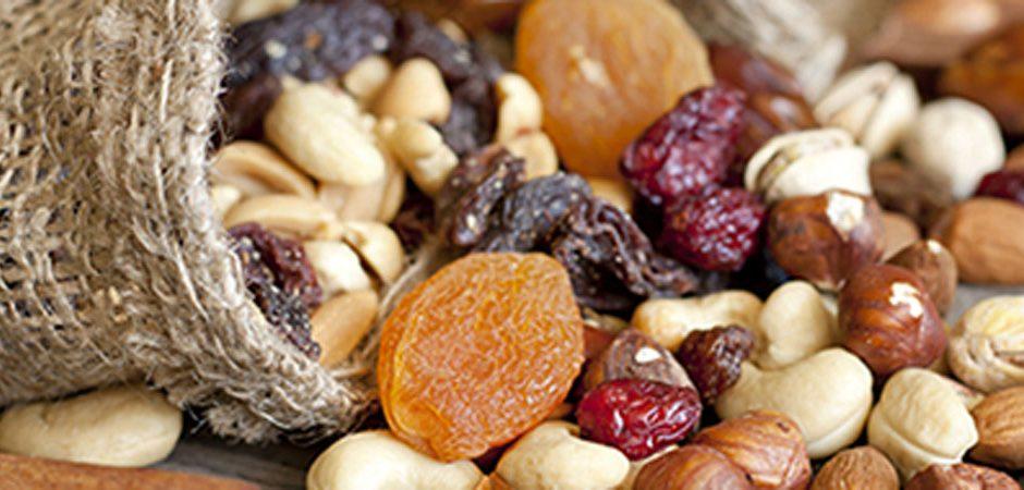 Frutos secos, un tentempié bajo en colesterol