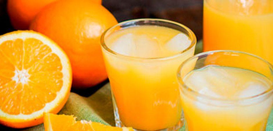 Jugo de naranja, ¡el mejor mezclador!