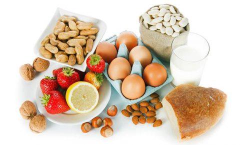 Las 3 alergias alimenticias más frecuentes en los niños