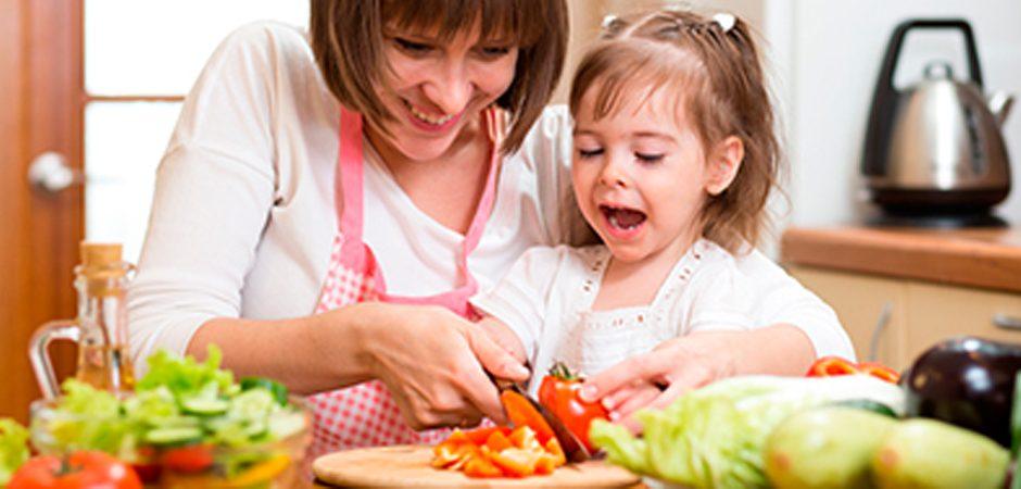 Más tips para cocinar ¡con tus hijos!