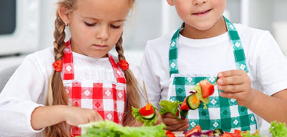 Niños: 5 maneras de comer vegetales
