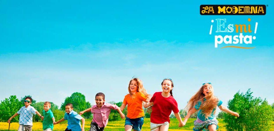 Niños felices y muy saludables