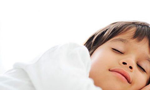 Niños que duermen bien
