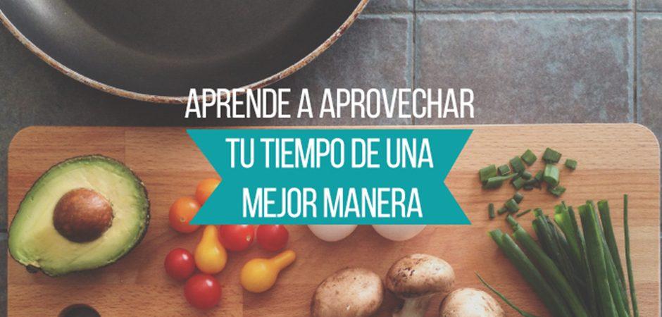 Optimiza tus tiempos mientras cocinas