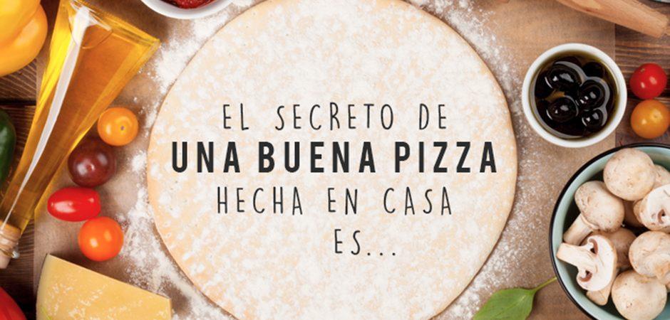 Pizzas saludables en casa