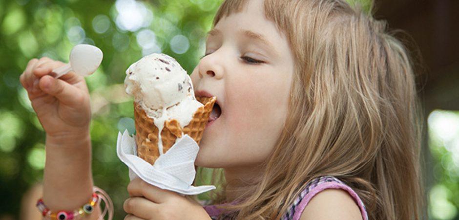 Detrás de los helados
