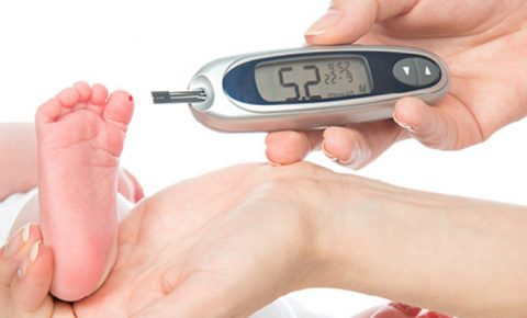 ¿Tu bebé tiene diabetes?