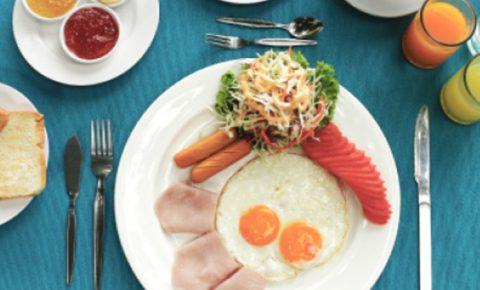 Un desayuno con mucha proteína