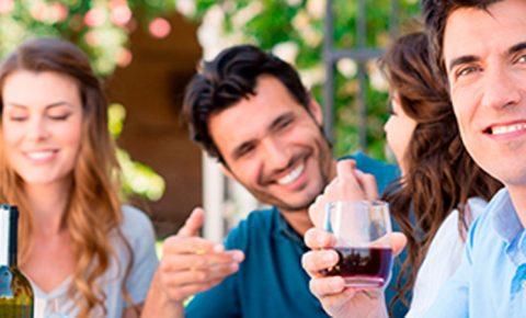 Una copa de vino y salud