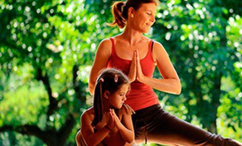 Yoga, niños y papás