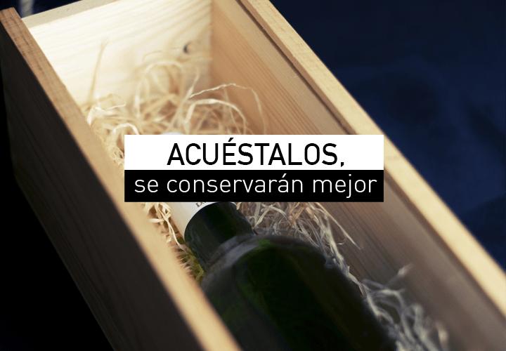 Cómo almacenar los vinos