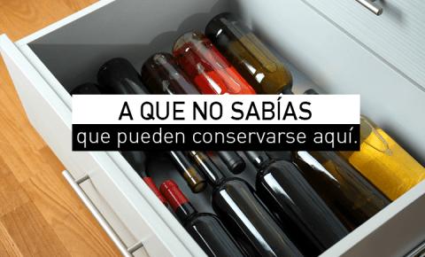 6 lugares para guardar tus vinos en casa