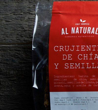 Crujientes de chía (snack saludable)
