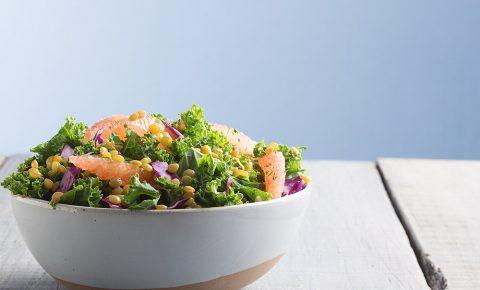 Ensalada Kale con toronja