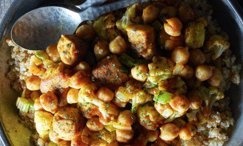 garbanzos con quinoa