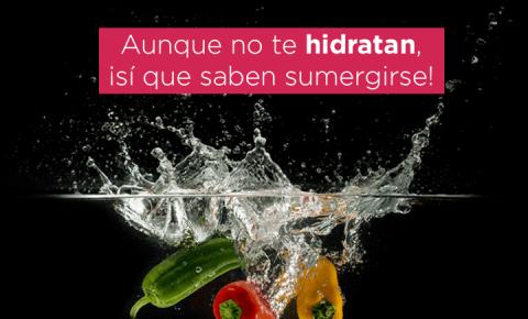 Refréscate consumiendo vegetales