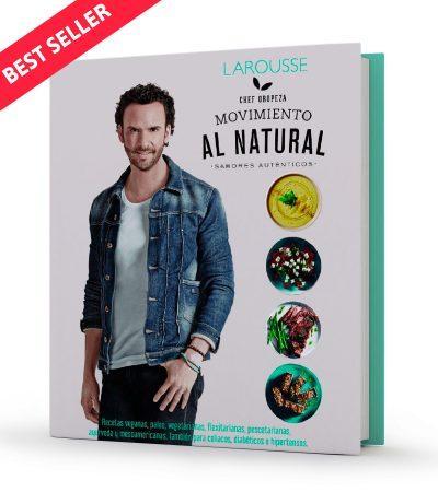 Libro Movimiento Al Natural: Sabores Auténticos