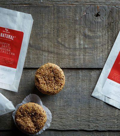 Muffin de manzana, tomillo, canela y hemp (snack saludable)