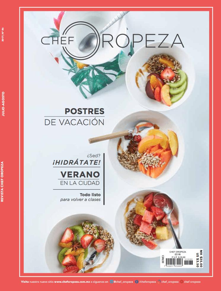 Revista Chef Oropeza No.86_Julio-Agosto_2017