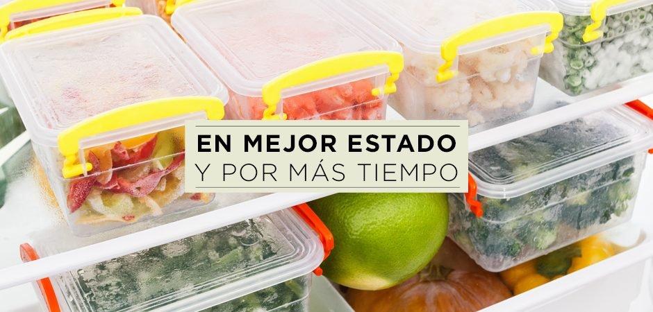 ¿Cómo conservar tus alimentos?