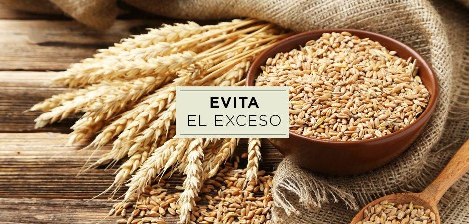 3 Alimentos saludables que contiene trigo