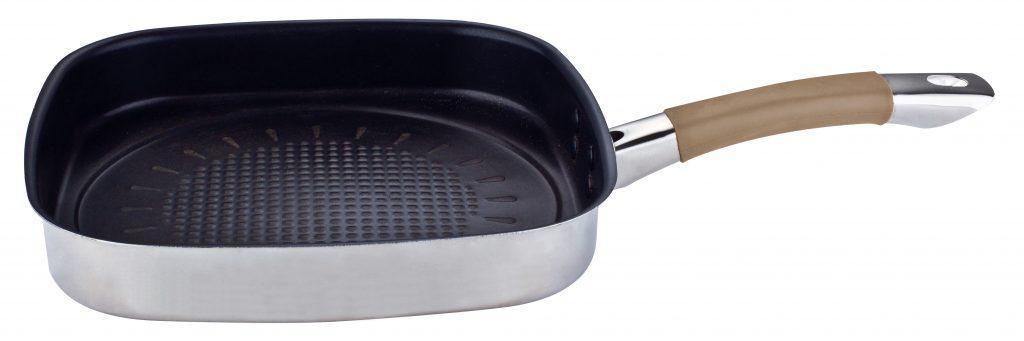 Sartén Grill 26 x 26 cm Al Natural por Chef Oropeza