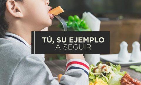 Mejora los hábitos alimenticios de tus hijos
