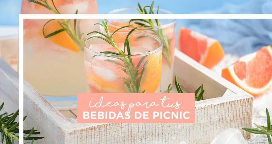 Ideas para tus bebidas de picnic