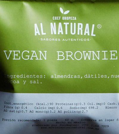 Vegan Brownies (Snack Saludable)