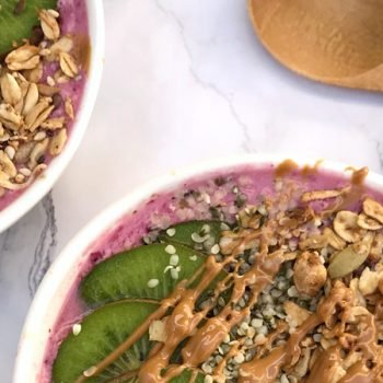 smoothie bowl antioxidante