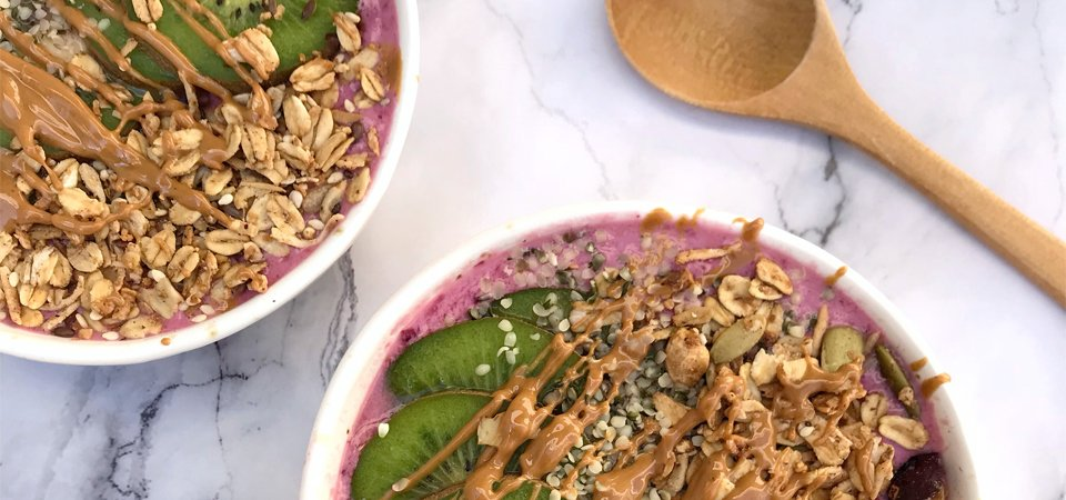 smoothie bowl antioxidante
