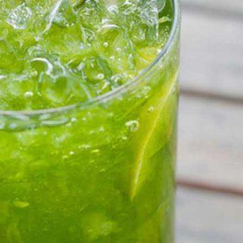 Agua de Pepino Limón y Jengibre