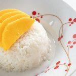 Arroz Glutinoso con Mango