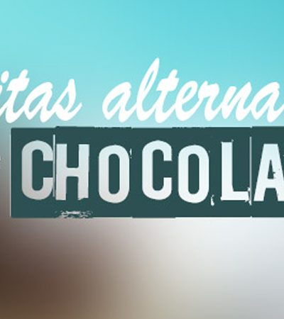 Barritas alternativas de chocolate y amaranto