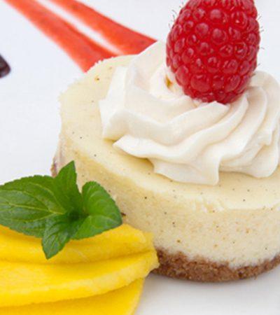 Cheesecake Mango y Yogurt sin Horno
