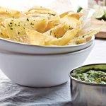 Chips de Camote con Chipotle