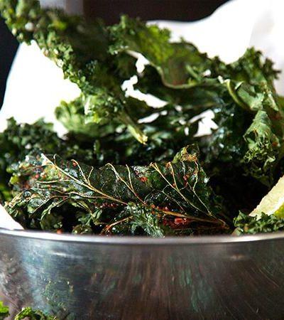 Chips de Kale Picantes