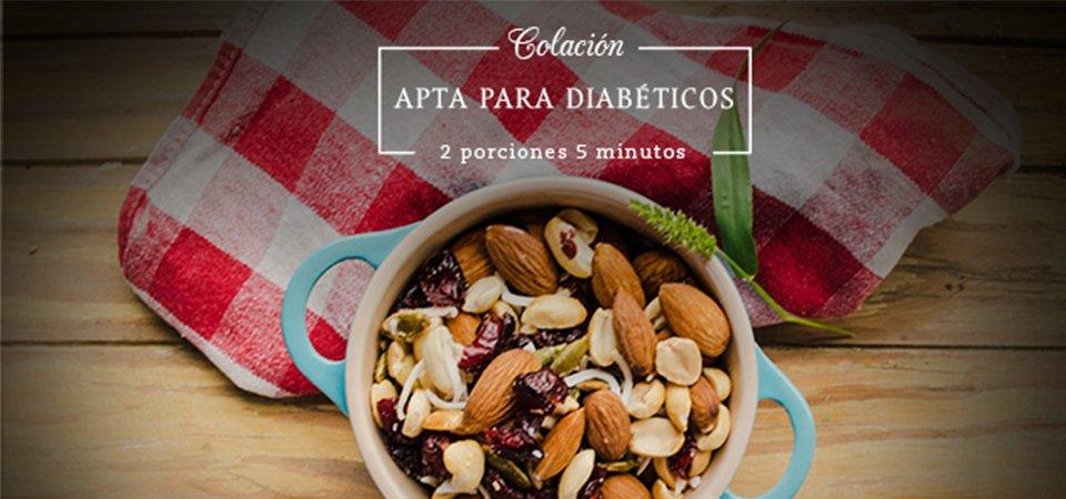 Colación apta para diabéticos